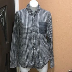 21 men checkered classic shirt